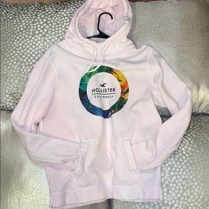 HOLLISTER white hoodie